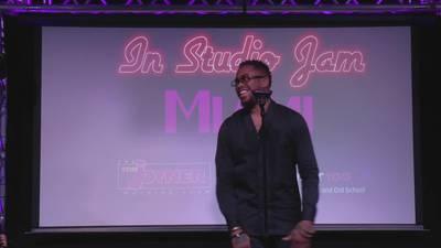 Tom Joyner In Studio Jam Miami starring Raheem DeVaughn