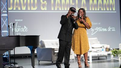 The Embrace Girls Foundation's Intimate Evening with DAVID and TAMELA MANN