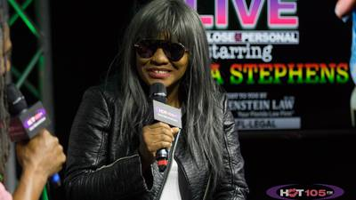"""HOT LIVE """"UP CLOSE & PERSONAL""""STARRING TANYA STEPHENS"""