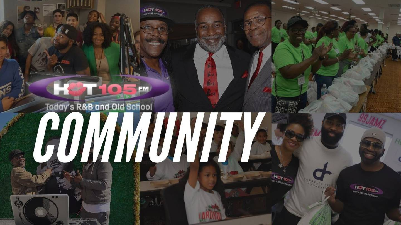 HOT 105 Community Events