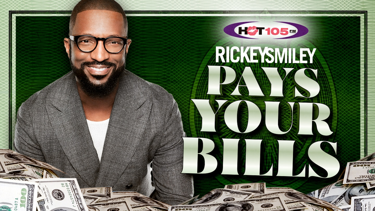 RICKEY SMILEY PAYS YOUR BILLS!