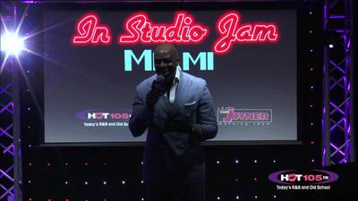 Joe In Studio Jam On Hot105