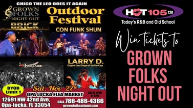 Win tickets to Grown Folks Night Out