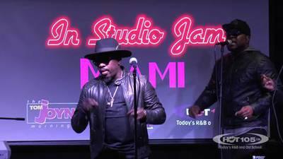 Hot Live In Studio Jam feat Anthony Hamilton