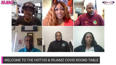 99 JAMZ & HOT105 Covid-19 Vaccine Roundtable