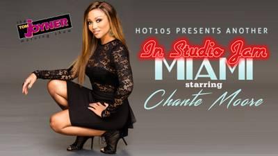 In Studio Jam starring Chante Moore